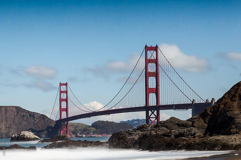 Golden Gate Bridge by James Tarry for Stocksy United