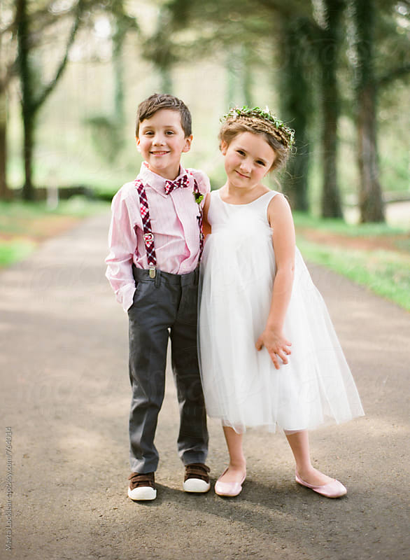 Ring Bearer & Flower Girl by Marta Locklear for Stocksy United