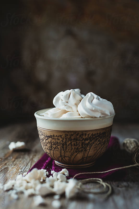 Meringue kisses by Tatjana Zlatkovic for Stocksy United