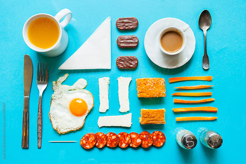 Well organised morning meal. by Audrey Shtecinjo for Stocksy United