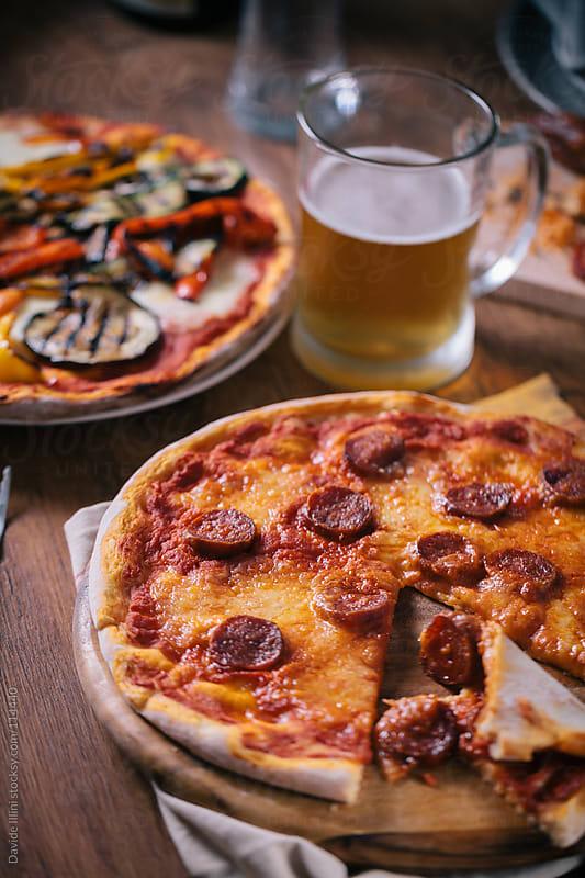 Italian Pizza by Davide Illini for Stocksy United