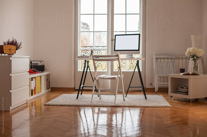 Empty Home Office by Mosuno for Stocksy United
