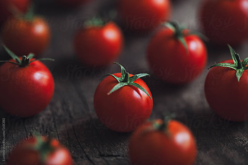 Cherry Tomatoes by Lumina for Stocksy United