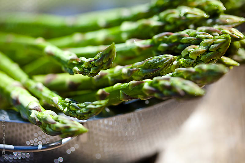 Asparagus Tips by Jill Chen for Stocksy United
