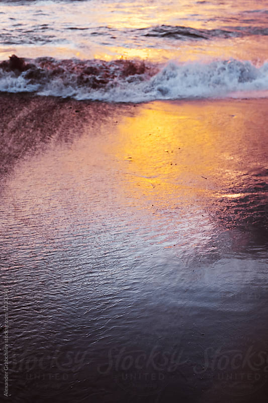 Sunset Beach by Alexander Grabchilev for Stocksy United