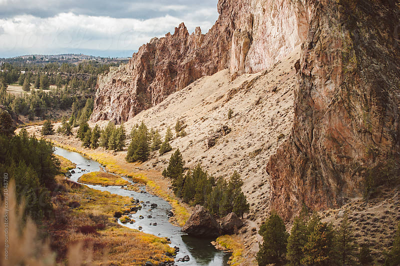 Smith Rock by neongrounds for Stocksy United