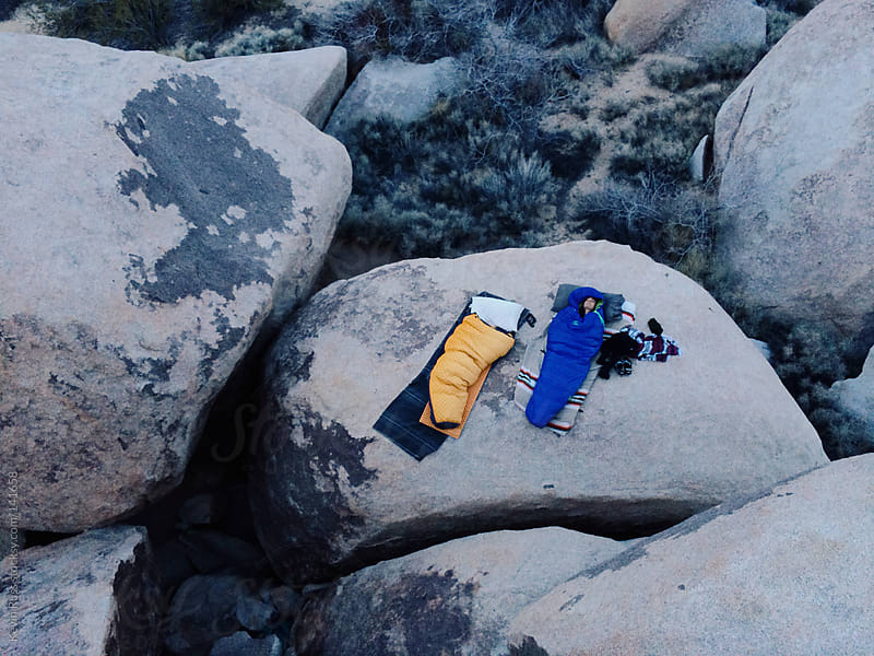 Boulder Camping by Kevin Russ for Stocksy United