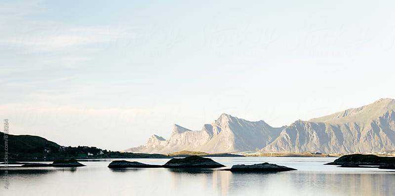 Lofoten Coast Panorama by Agencia for Stocksy United