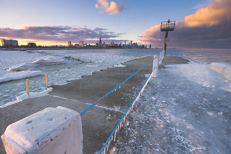 Ice Jetty by Brian Koprowski for Stocksy United