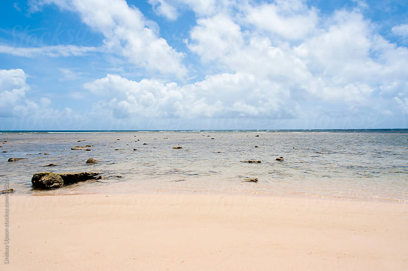 Beach on East Shore of Barbados by Lindsay Upson for Stocksy United