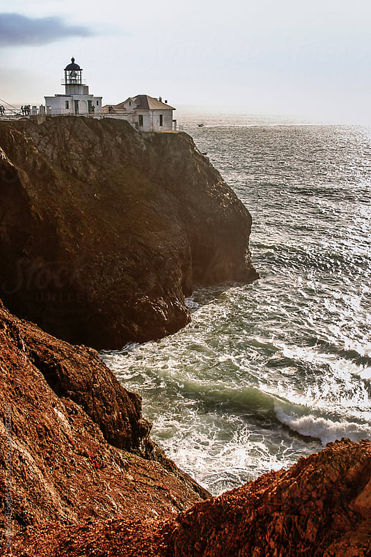 Point Bonita Lighthouse San Francisco, California by Raymond Forbes LLC for Stocksy United