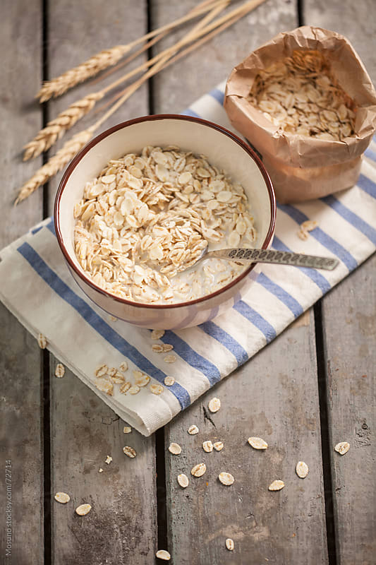 Organic Oat Meal by Mosuno for Stocksy United