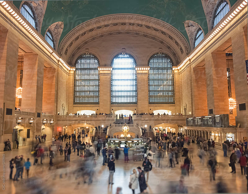 Activity in Grand Central Station by GIC for Stocksy United
