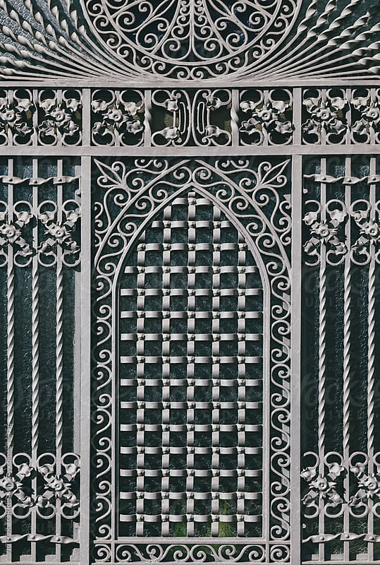 Medieval Metallic Gate by VICTOR TORRES for Stocksy United