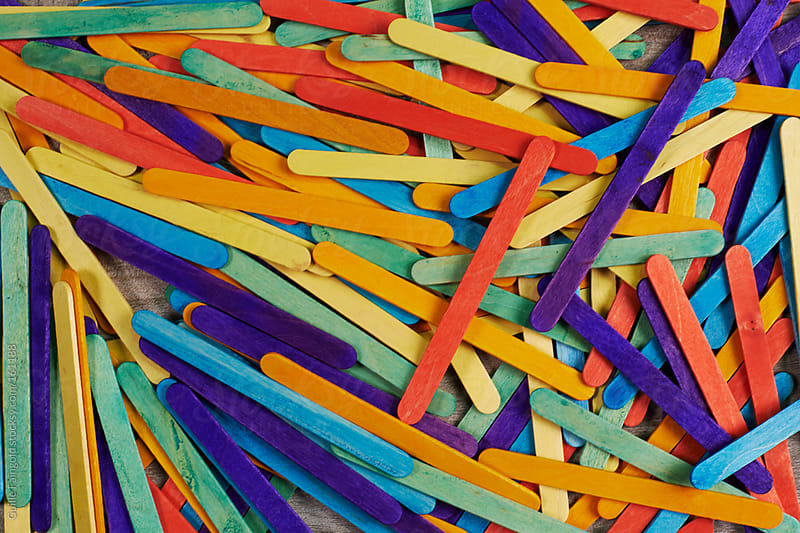color sticks by Guille Faingold for Stocksy United