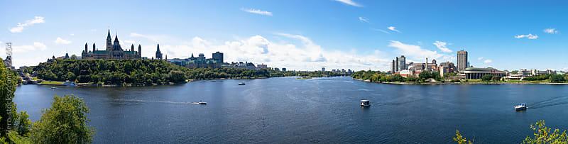 Ottawa River by Good Vibrations Images for Stocksy United