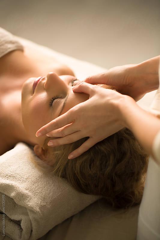 Head Massage by Lumina for Stocksy United