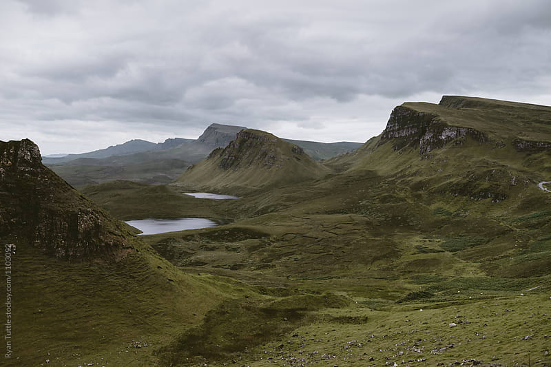 The Quiraing, Scotland by Ryan Tuttle for Stocksy United