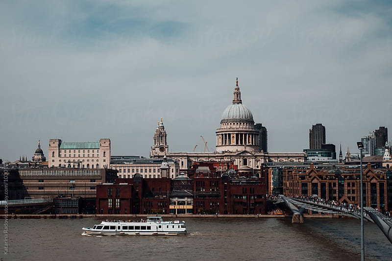 Historical Cityscape of London by Katarina Radovic for Stocksy United