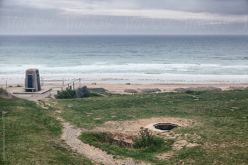 Omaha Beach in Normandy, France by Ivan Bastien for Stocksy United