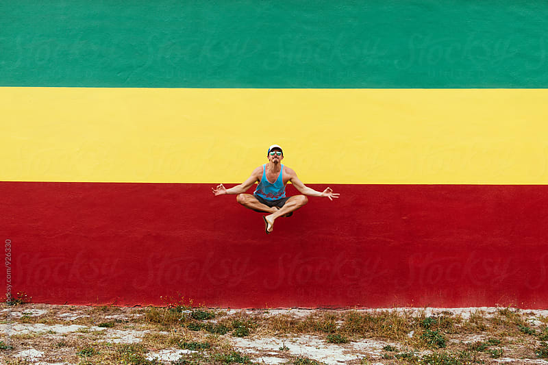Meditation Levitation by Taylor Kampa for Stocksy United