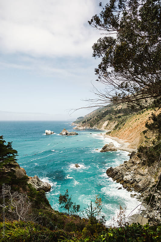 Pacific coast, Big Sur, California by michela ravasio for Stocksy United