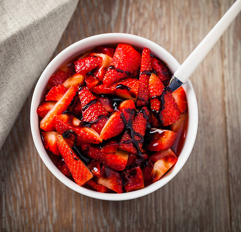Strawberries Salad by Davide Illini for Stocksy United