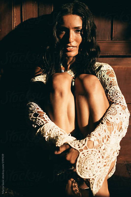Beautiful Woman  by Marija Savic for Stocksy United