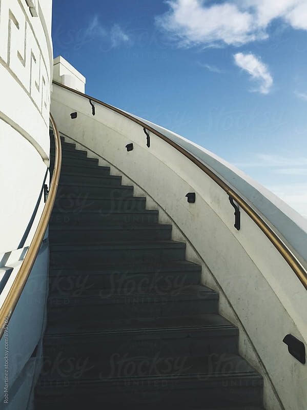 SKY STAIRS by Rob Martinez for Stocksy United