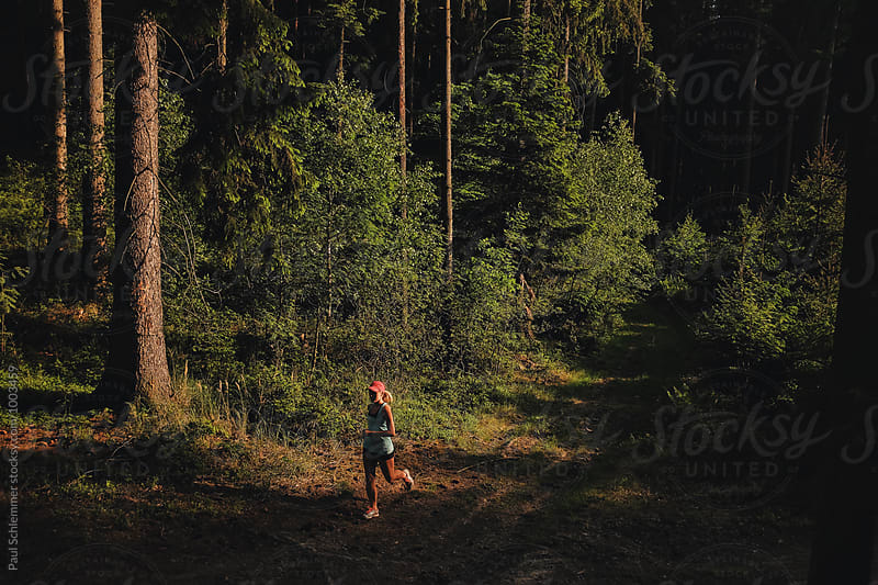 trailrun by Paul Schlemmer for Stocksy United