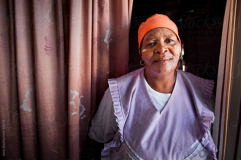 Xhosa Domestic Worker by Micky Wiswedel for Stocksy United