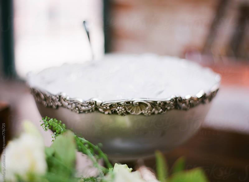 Elegant Ice Bowl by Marta Locklear for Stocksy United