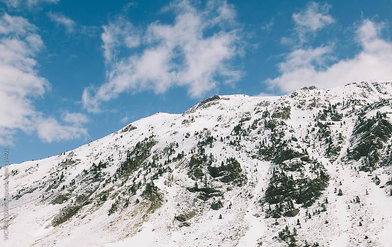 Astun Ski Resort in Huesca, Spain by VICTOR TORRES for Stocksy United