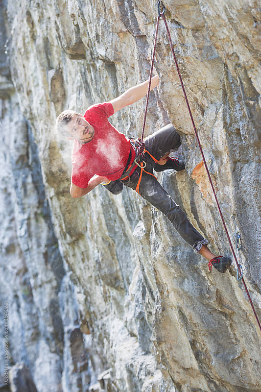 Rock Climbing by RG&B Images for Stocksy United