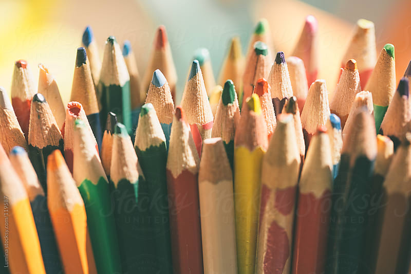 Coloured Pencils by Lumina for Stocksy United