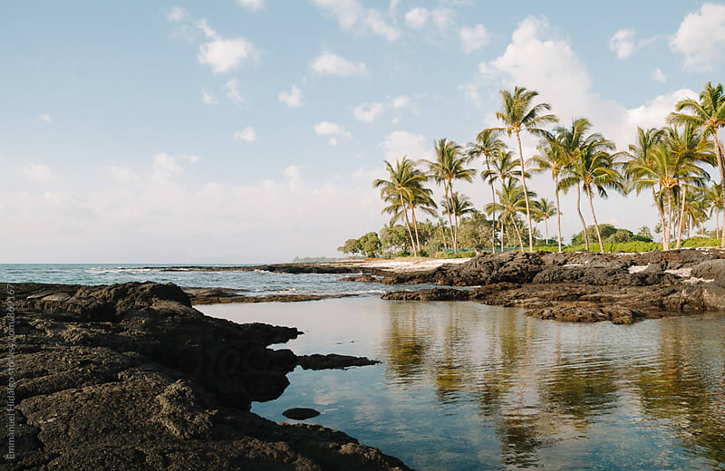 Serene view on the Big Island of Hawaii by Emmanuel Hidalgo for Stocksy United