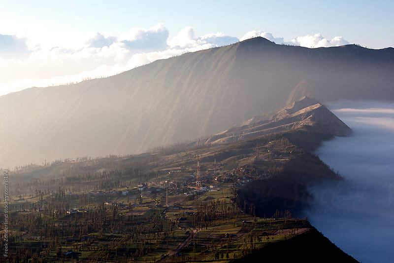 Bromo Sunrise Clouds by Freek Zonderland for Stocksy United
