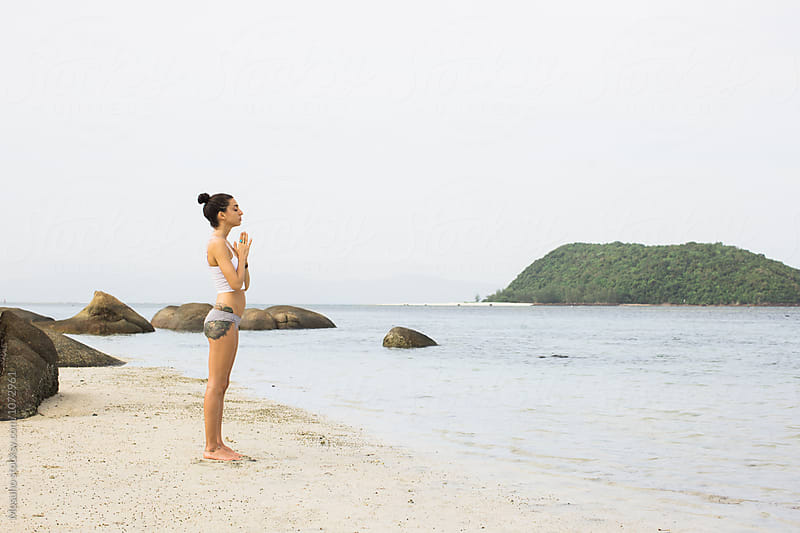 Woman Doing Yoga by Mosuno for Stocksy United
