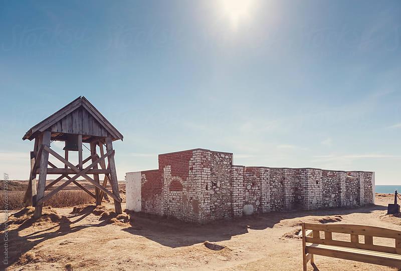 Ruins of Marup kirke in Lonstrup, North Jutland by Elisabeth Coelfen for Stocksy United