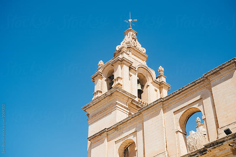 St. Paul's Cathedral, Mdina by Sam Burton for Stocksy United