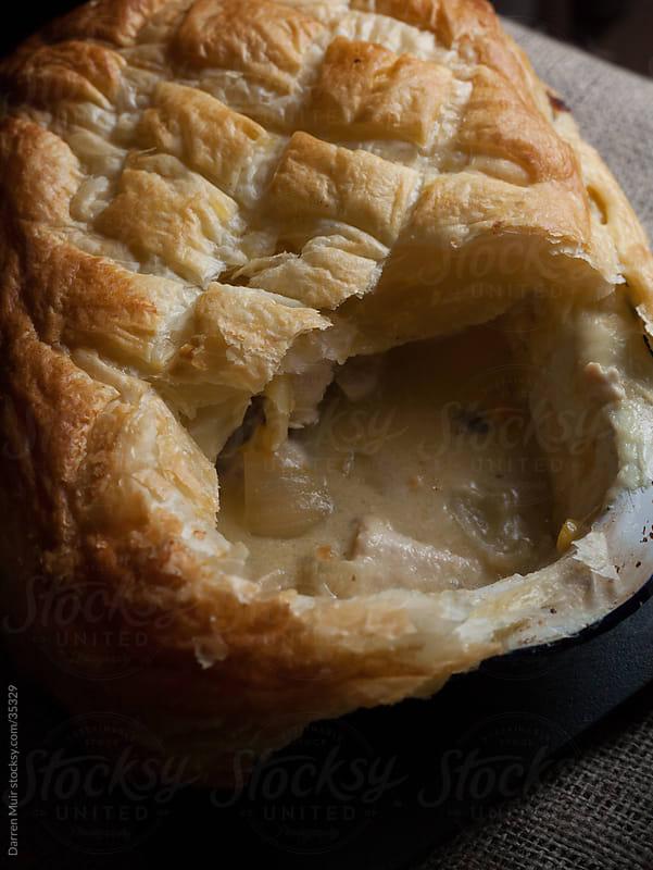 Chicken pie by Darren Muir for Stocksy United