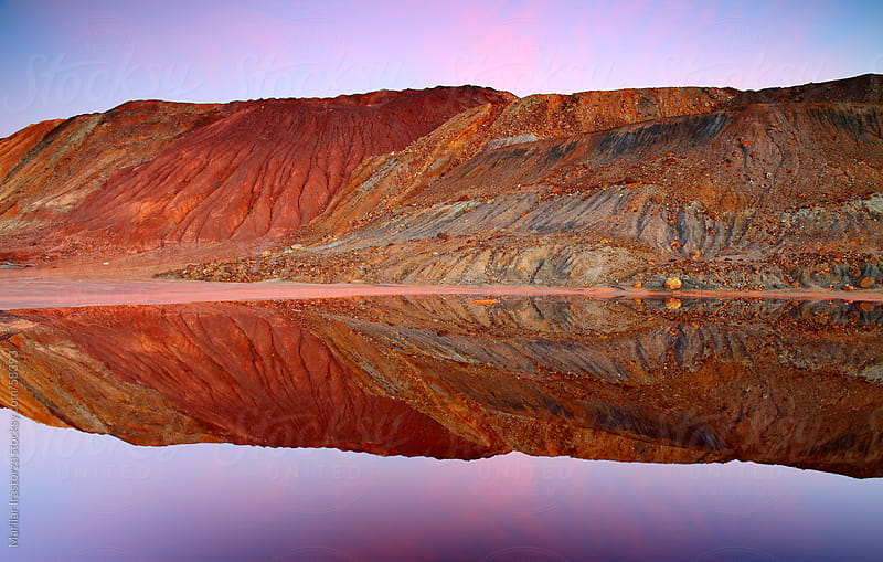 Reflection in Rio Tinto by Marilar Irastorza for Stocksy United