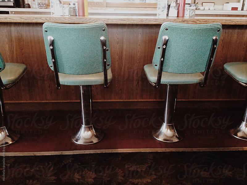 Vintage bar stools by michela ravasio for Stocksy United