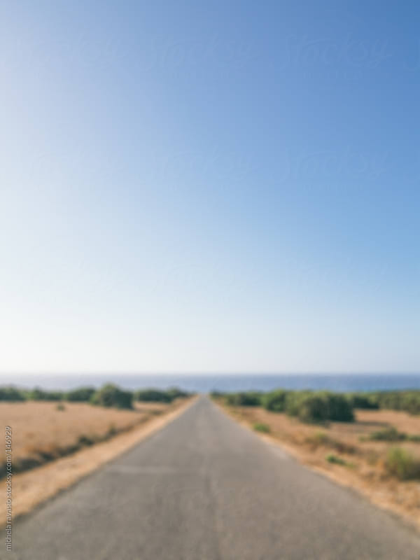 Road to the sea by michela ravasio for Stocksy United