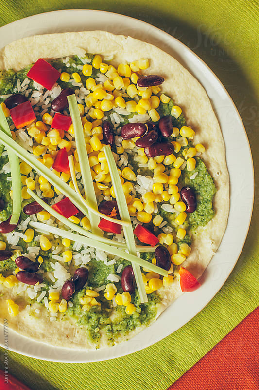 Mexican Tortilla With Avocado and Sweet Corn by Lumina for Stocksy United