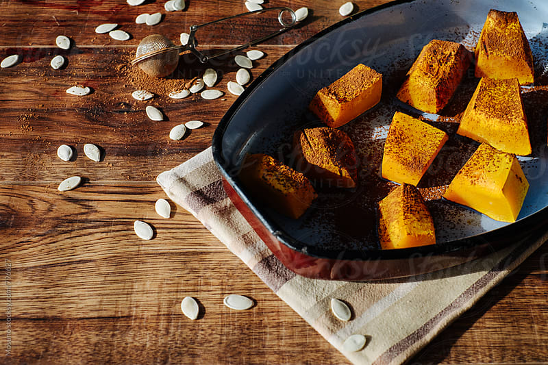Pumpkin Dessert by Mosuno for Stocksy United