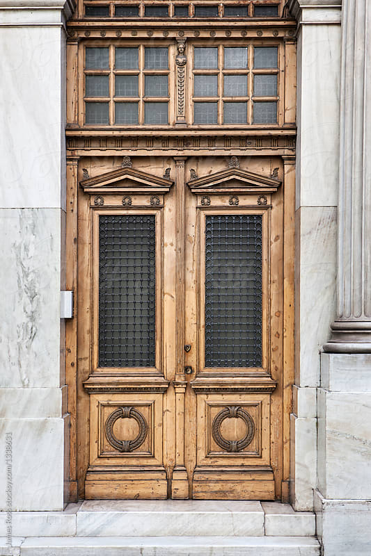 Ornate Doors Athens Greece by James Ross for Stocksy United & Ornate Doors Athens Greece - Stocksy United