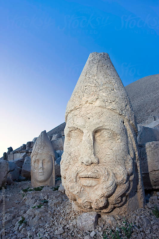 Mount Nemrut, Cappadocia, Anatolia, Turkey by Gavin Hellier for Stocksy United