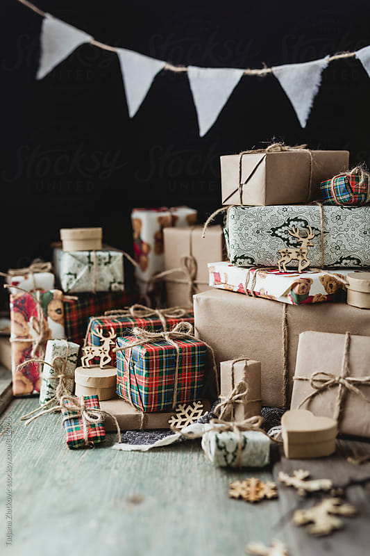 Christmas gifts by Tatjana Ristanic for Stocksy United