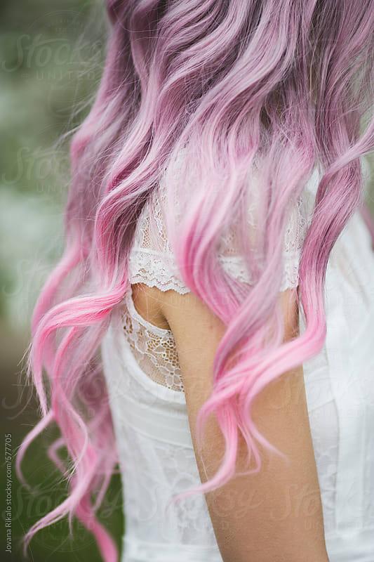 Pastel hair by Jovana Rikalo for Stocksy United